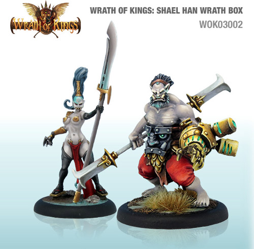 Wrath of Kings House of Shael Han: Wrath Unit Box