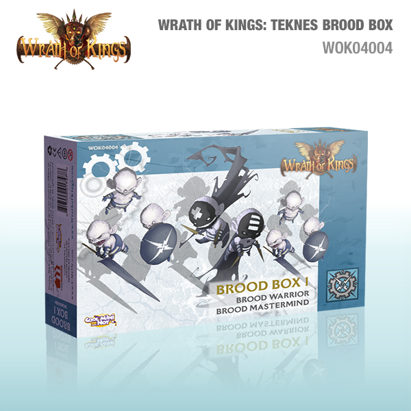 Wrath of Kings House of Teknes: Brood Box 1