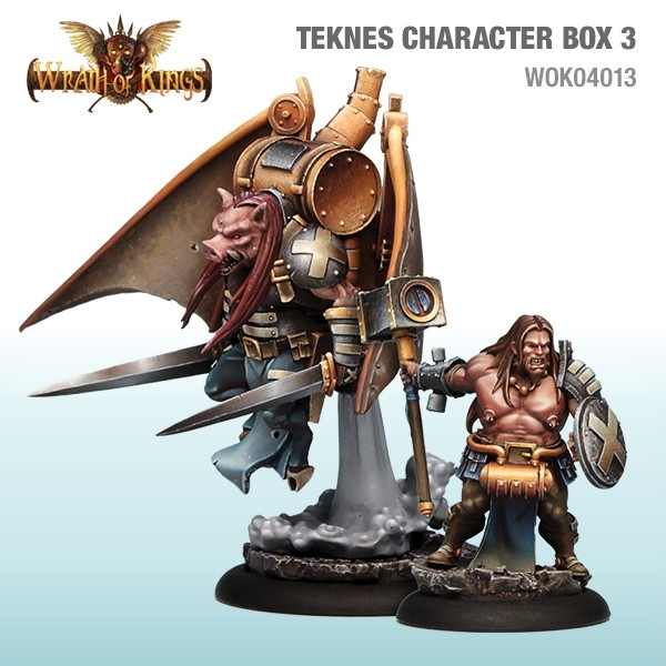 Wrath of Kings House of Teknes: Character Box 3