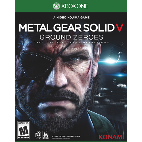 XBOX ONE: Metal Gear Solid V Ground Zeroes