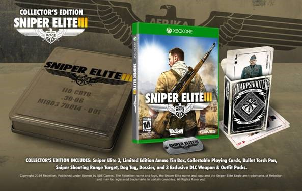 XBOX ONE: SNIPER ELITE 3: AFRIKA (Collectors Edition)
