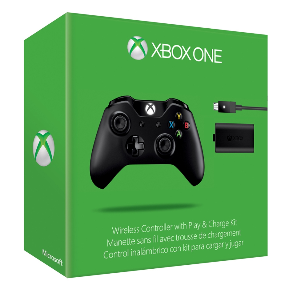 XBOX ONE: Wireless Controller with Play & Charge Kit