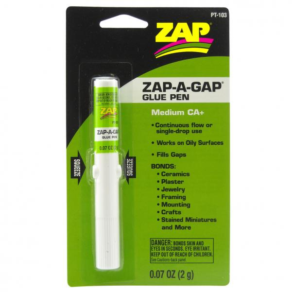 Zap: Zap-A-Gap Medium CA+ (Glue Pen)