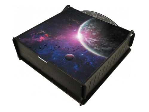 e-Raptor Games: Trading Card Ultimate Storage Box - Outer Space