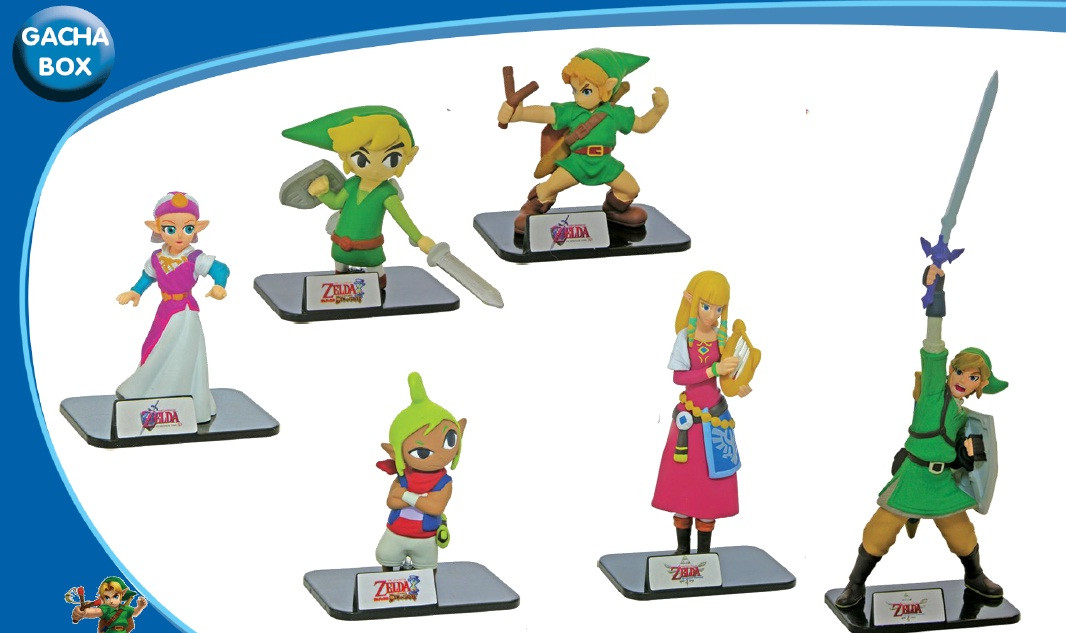 Gacha: Zelda Buildable Figures
