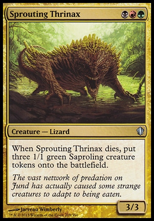 Magic: Commander 2013 219: Sprouting Thrinax
