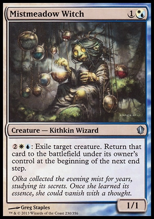 Magic: Commander 2013 230: Mistmeadow Witch