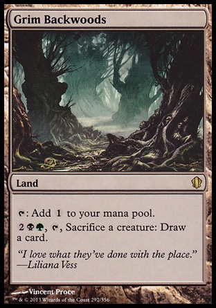 Magic: Commander 2013 292: Grim Backwoods