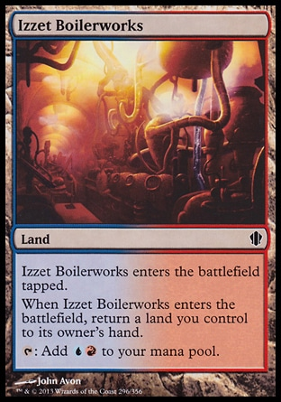 Magic: Commander 2013 296: Izzet Boilerworks
