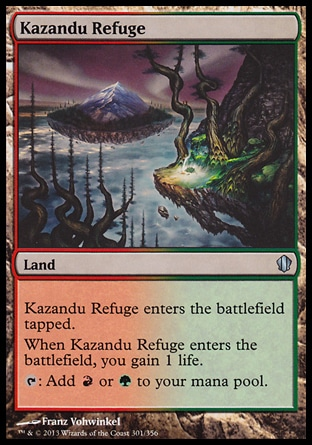 Magic: Commander 2013 301: Kazandu Refuge