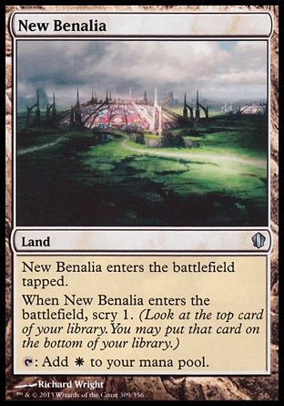 Magic: Commander 2013 309: New Benalia