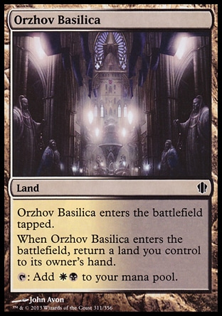 Magic: Commander 2013 311: Orzhov Basilica