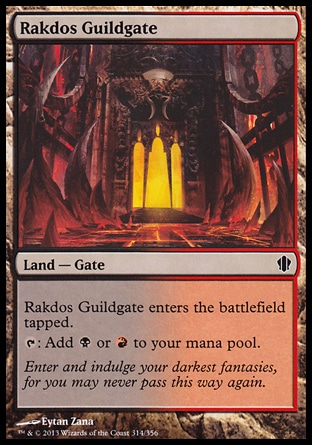 Magic: Commander 2013 314: Rakdos Guildgate