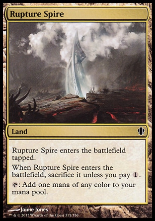 Magic: Commander 2013 315: Rupture Spire