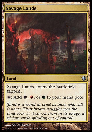 Magic: Commander 2013 317: Savage Lands