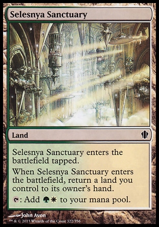 Magic: Commander 2013 322: Selesnya Sanctuary