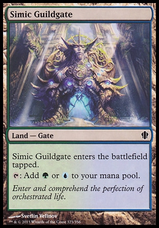 Magic: Commander 2013 323: Simic Guildgate