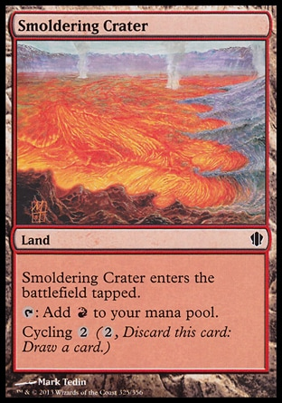 Magic: Commander 2013 325: Smoldering Crater