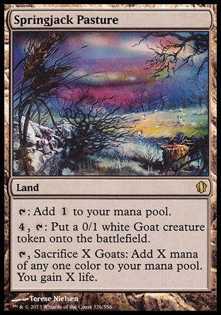 Magic: Commander 2013 326: Springjack Pasture