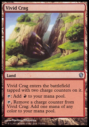 Magic: Commander 2013 333: Vivid Crag