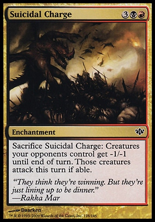 Magic: Conflux 128: Suicidal Charge