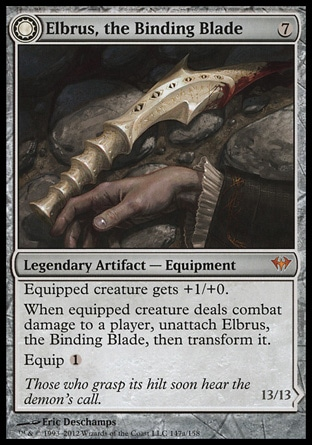 Magic: Dark Ascension 147: Elbrus, the Binding Blade // Withengar Unbound