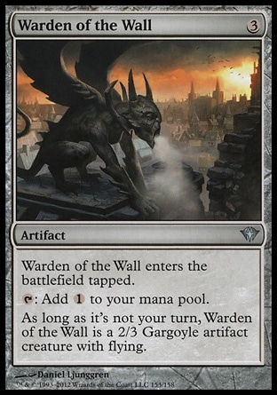 Magic: Dark Ascension 153: Warden of the Wall
