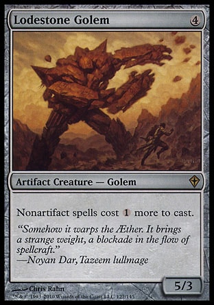Magic: Worldwake 127: Lodestone Golem