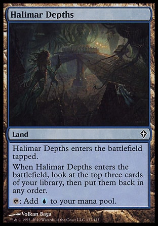Magic: Worldwake 137: Halimar Depths