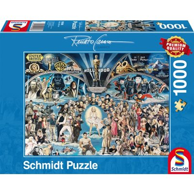 Schmidt Spiele Puzzles: Hollywood [Damaged]