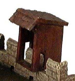 Miniature Building Authority: 28mm Eurovillage: Wall Privy