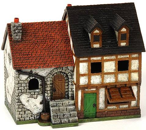 Miniature Building Authority: 28mm Eurovillage: New Double Townhouse